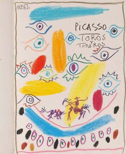 PICASSO PABLO (1881-1973) - DOMINGUIN LUIS MIGUEL (1926- 1996) Toros y Toreros Text...