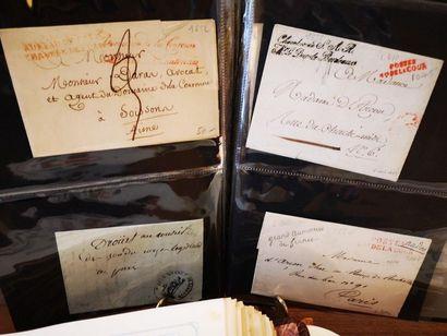 FRANCE, Emission 1860-1950 Deux albums de timbres des colonies françaises. M. Richard...