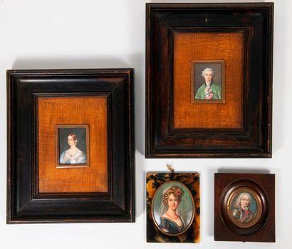 Dans le goût du XVIIIème ou du XIXème siècle, réalisées dans le premier tiers du XXème siècle