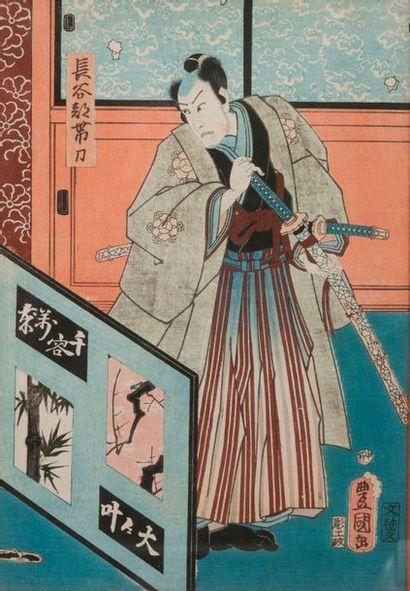 D'après KUNISADA UTAGAWA  (1786-1865)