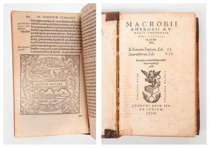MACROBIUS (Ambrosius).