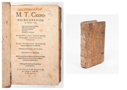 CICERO (Marcus tullius).