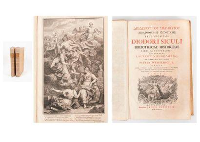 [DIODORE DE SICILE]. Diodori Siculi Bibliothecae...