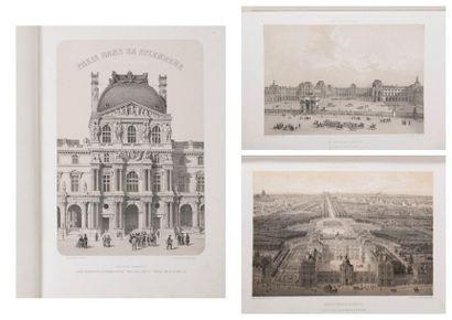 Paris dans sa splendeur, Monuments, vues,...