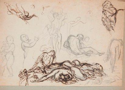 ATTRIBUÉ À ALFRED DEHODENCQ (1822-1882)