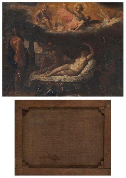 Ecole française de la fin du XVIIème siècle- début du XVIIIème siècle