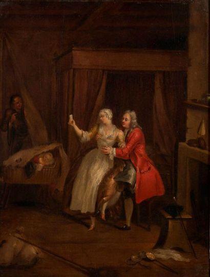 Ecole française, dans le goût du XVIIIème siècle