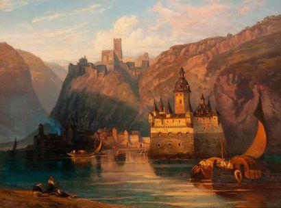Ecole suisse ou allemande du XIXème siècle