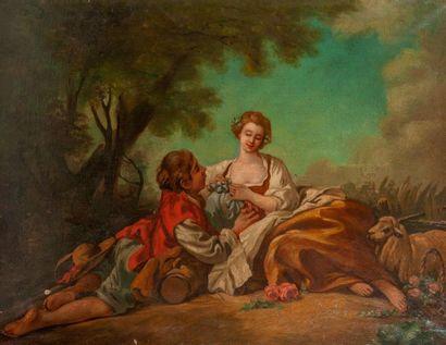 Dans le goût de François BOUCHER (1703-1770)