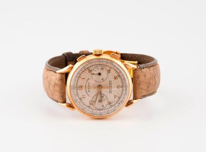 SADA Chronographe Suisse  Montre chronographe bracelet d'homme.  Boîtier rond en...