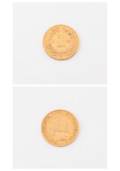 FRANCE  Pièce de 40 francs or, Louis Philippe...