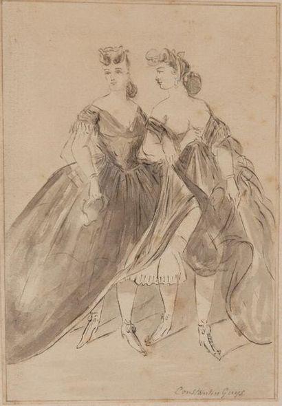 ATTRIBUÉ À CONSTANTIN GUYS (1802/05-1892)
