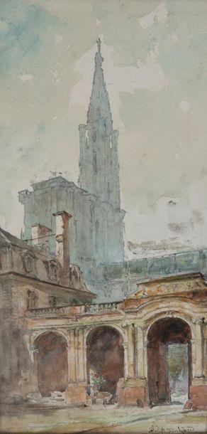 Ecole française ou allemande de la fin du XIXème siècle