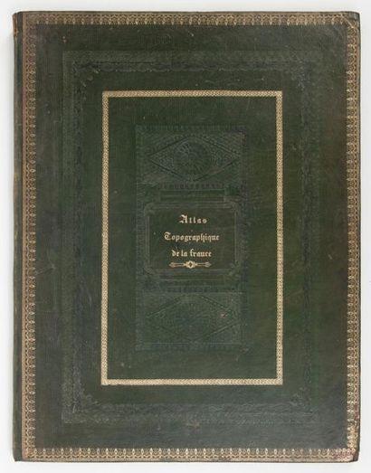 Alexis DONNET Atlas topographique, minéralogique et statistique de la France réduit...