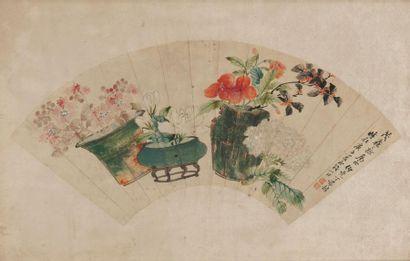 CHINE, Fin du XIXème ou début du XXème siècle