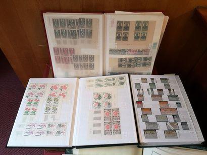 FRANCE et PAYS DIVERS, émissions 1850-2000 Ensemble de timbres-poste neufs et oblitérés,...