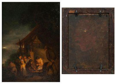 Attribuée à Egbert Van Der POEL (1621-1664)
