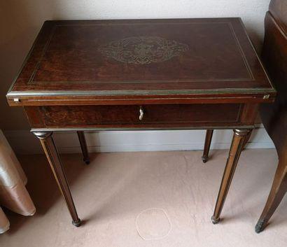 Style Louis XVI, seconde moitié du XIXème siècle.