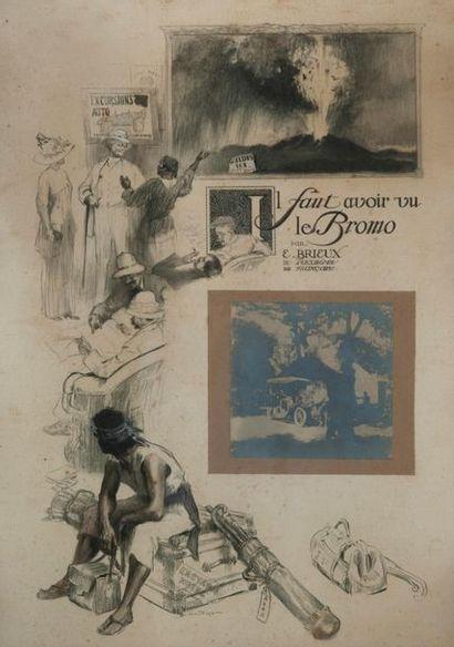 BIRON ROGER (XIXème-XXème s.), dessinateur & Eugène BRIEUX (1858-1932), auteur