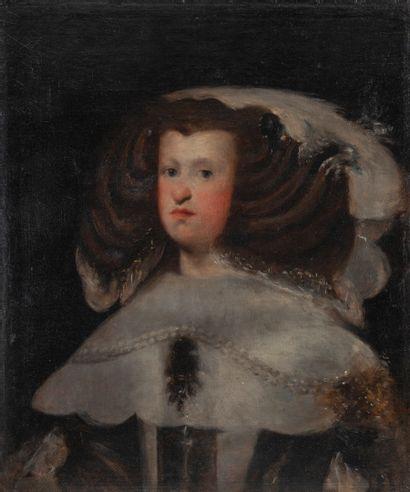 D'après Diego Rodriguez de Silva VELASQUEZ Rodriguez de Silva I (15991660), Travail du XIXème siècle