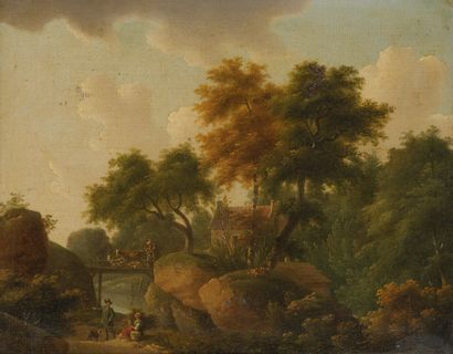 Attribuée à Philippe BUDELOT (act.1793-1841)