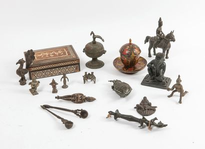 INDE, THAILANDE, IRAN, fin du XIXème-XXème siècles