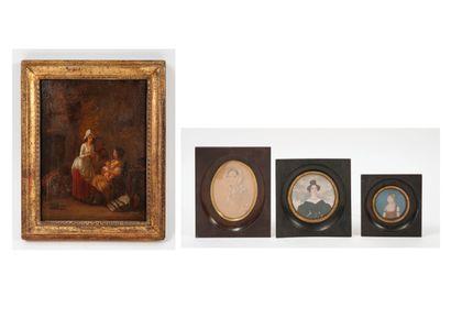 Ecole dans le goût du XVIIIème siècle