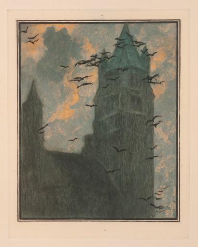 Georges RODENBACH - Lucien LÉVY-DHURMER Dead Bruges.  Javal & Bourdeaux, Paris. 1930....