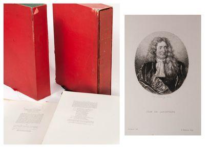 Jean de La Fontaine Book one and seven.  Librairie des bibliophiles, Paris, 1873....