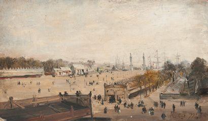 ECOLE FRANCAISE DE LA SECONDE MOITIE DU XIXème siècle