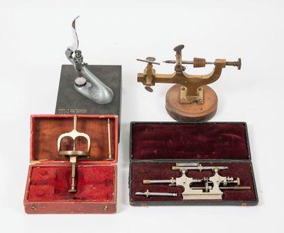Ensemble d'instruments d'horloger, de la...