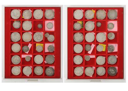 25 monnaies françaises royales et modernes...