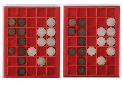 8 pièces de 5 francs :  Directoire, Consulat...