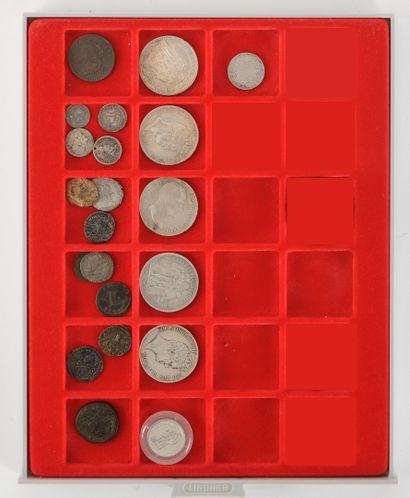 5 pièces de 5 francs du consulat (1799-1804)...