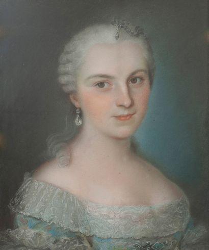 Ecole de Maurice-Quentin de LA TOUR (1704-1788)