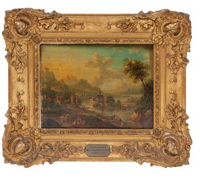Attribuées à Frans HOCHECKER (Francfort-sur-le Main 1730-id.;1782)