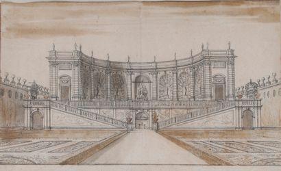 Israël SILVESTRE (Nancy 1621-Paris 1691)