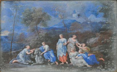 ECOLE FRANCAISE du dernier tiers du XVIIème siècle