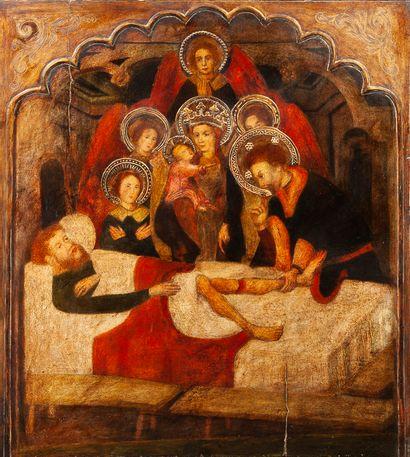 D'après Luis BOROSSA Luis (Gérone ( ?) vers 1360 - Barcelone vers 1426)
