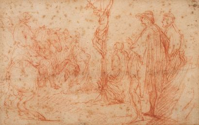 Entourage d'Antoine WATTEAU (1684-1721)