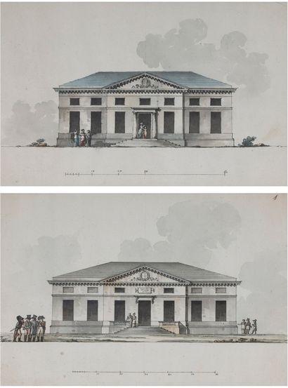 Giacomo QUARENGHI (Valle Imagua 1744- Saint Petersbourg 1817)