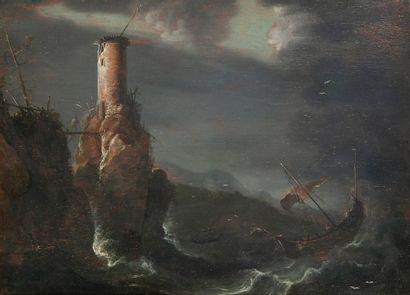 ECOLE HOLLANDAISE de la première moitié du XVIIème siècle