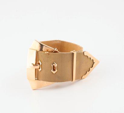 Bracelet ruban stylisant une ceinture en...