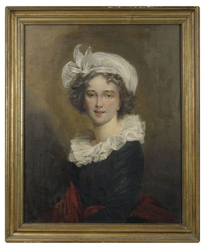 Ecole du XIXème-début XXème siècle, d'après Elisabeth VIGEE LE BRUN (1755-1842)