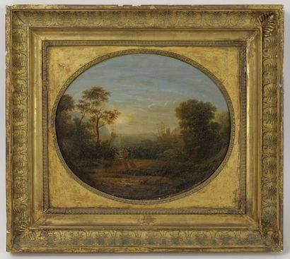 Suiveur de Claude LE LORRAIN (1600-1682)