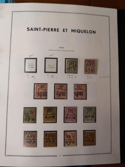 SAINT PIERRE & MIQUELON, Emissions 1885/2015