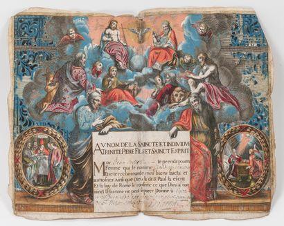 FRANCE, fin du XVIIème siècle