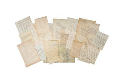 ANCIEN RÉGIME. 25 lettres ou pièces, la...