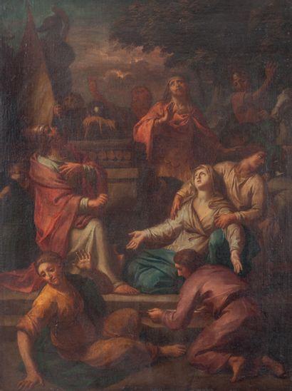 Charles LE BRUN (1619-1690), Entourage de