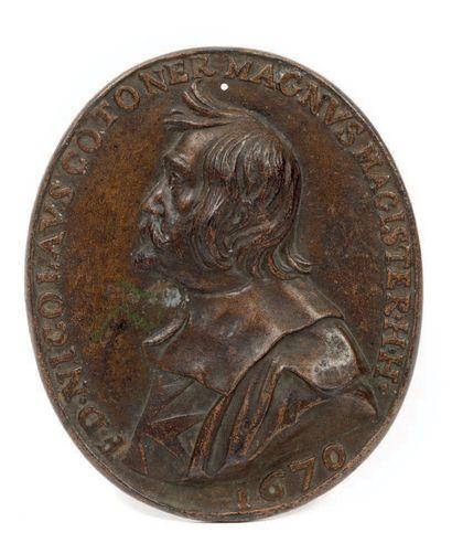 MALTE, Nicolas COTONER (1663-1680)